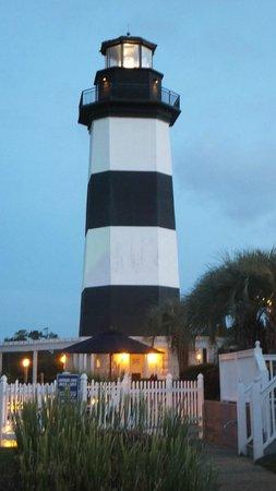 Holiday Inn Express N. Myrtle Beach-Little River: Light House across Marina