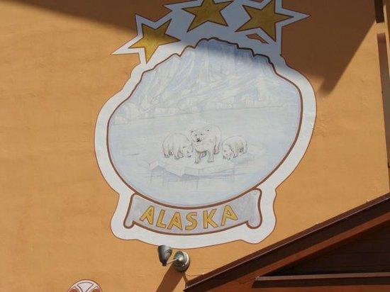 Hotel Alaska: stemma dell'Alaska