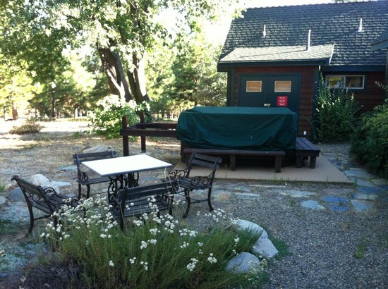 Yosemite Hilltop Cabins: Common area