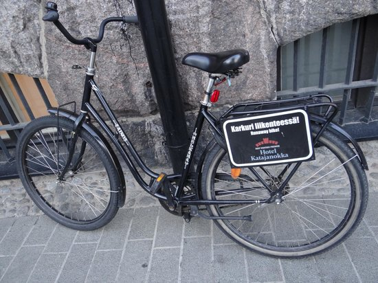 Hotel Katajanokka: Rental bikes, also with electrical motors