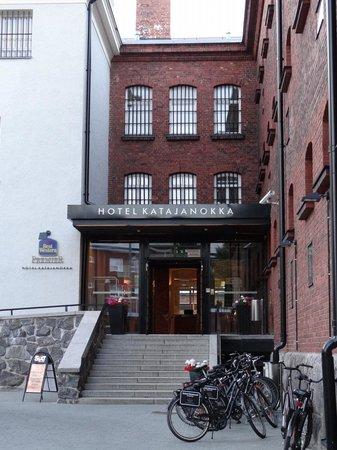 Hotel Katajanokka: Entrance