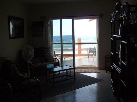 Punta Piedra: Living area