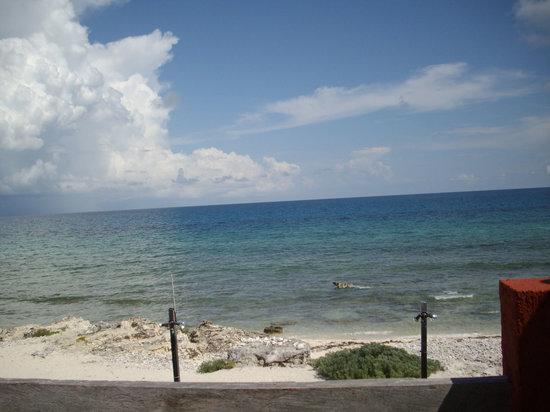 Punta Piedra: View from balcony