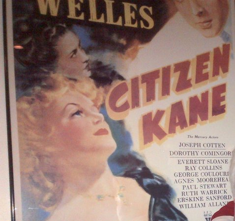 Citizen Kane's Steak House: Wall poster art