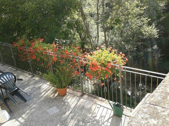La Cascina del Nonno: Il terrazzo del nonno