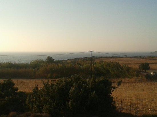 Galini Hotel: Θέα στη θάλασσα