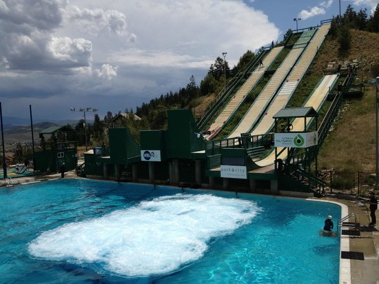 Utah Winter Sports Park : ski jump
