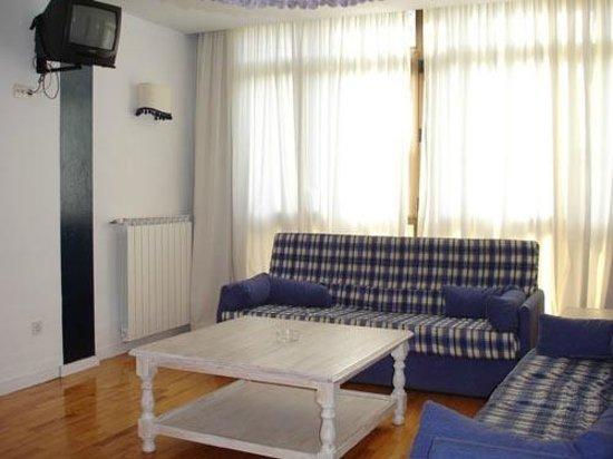 Apartamentos Pirineos: Salón