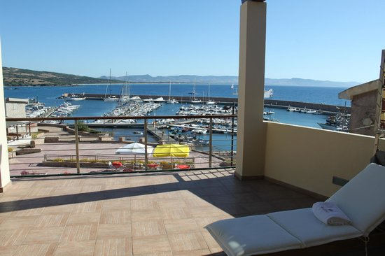 Hotel Corallo: View of the Port from Junior Deluxe Suite
