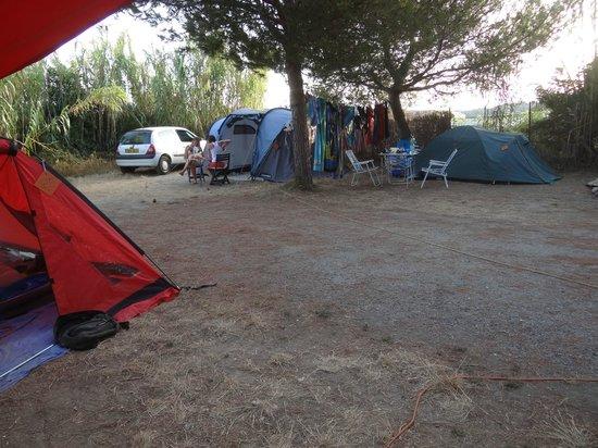 Camping La Tour Fondue : emplacement de tente