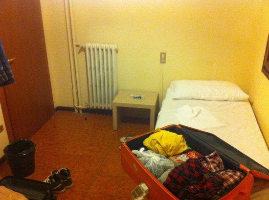 Hotel Colombo : Il tugurio di stanza !!!