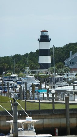 Light House Across Marina Picture Of Cricket Cove Marina