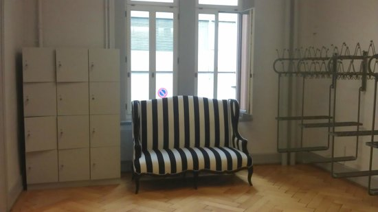 Textilmuseum: Garderobe