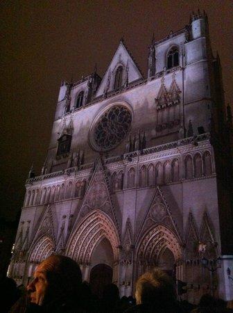 Cathédrale Saint-Jean Baptiste : Fête des lumières Cathédrale Saint-Jean