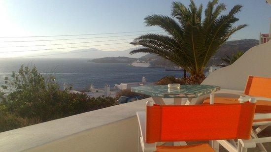 Aegean Hotel: VISTA CAMERA