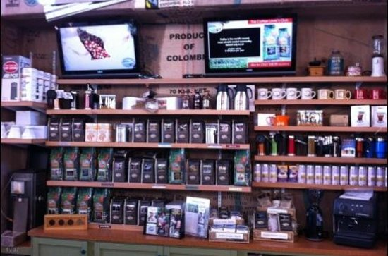 Camano Island Marketplace: fresh roasted organic coffee with a great story