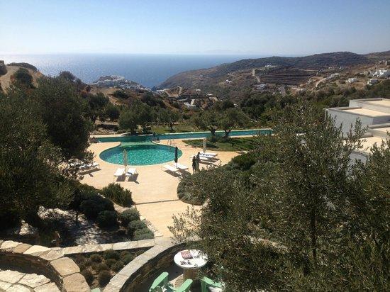 Kamaroti Suites Hotel: La vue de notre chambre
