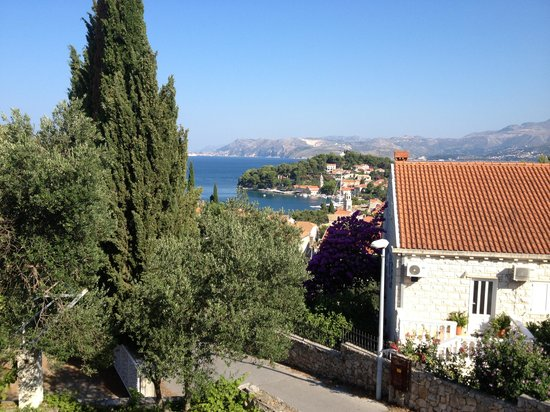 Villa Radovic: Beautiful view from our balcony