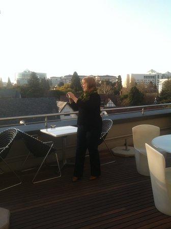 Radisson Blu Hotel Sandton, Johannesburg : At the Rooftop