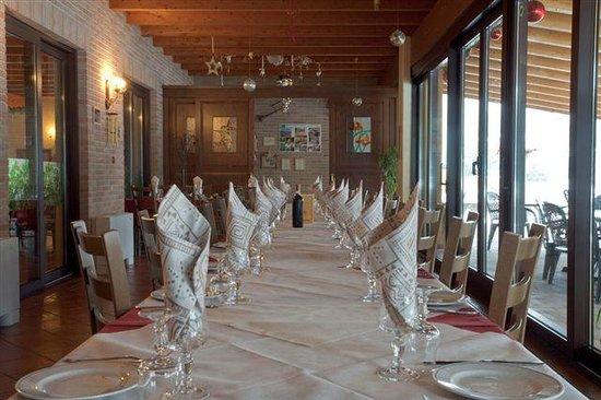 Origgio, Италия: La veranda