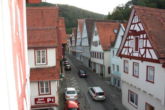 Hotel Ochsen: view from room 11