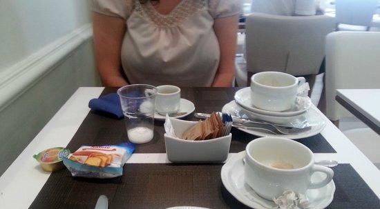 Hotel Italia: sala colazione