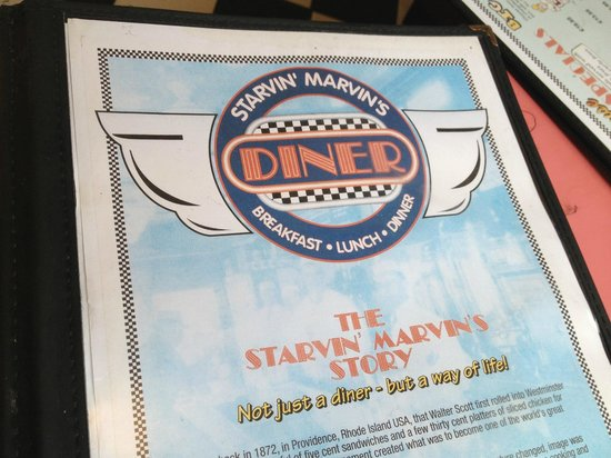 Starvin' Marvin's: The Menu