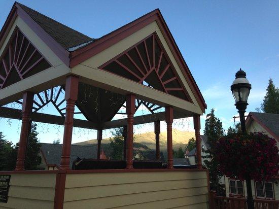 Wedgewood Lodge: Hot tub