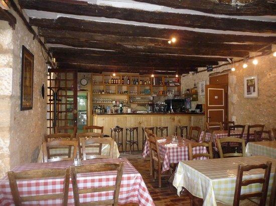 Camping Bleu Soleil : Le restaurant