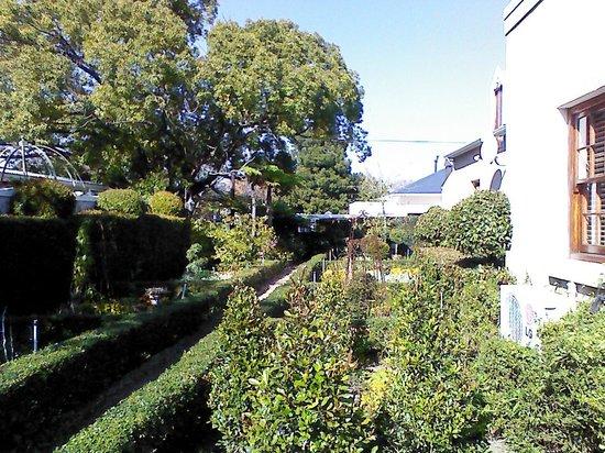 Lemoenkloof Guest House & Conference Centre: Small garden