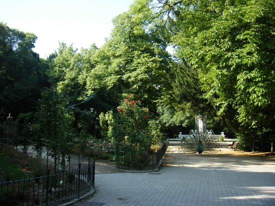 Parque Campo Grande: y lucirme por el paseo
