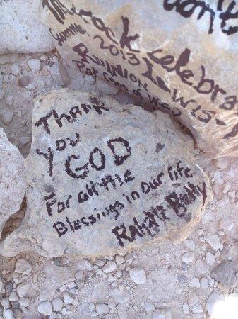 The Coming King Sculpture Prayer Garden: Prayer Rock