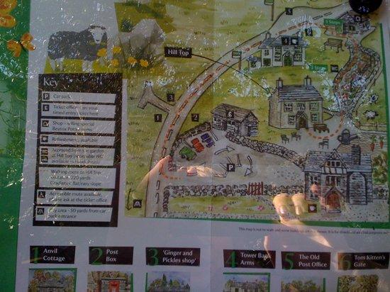 Kendal Hostel: Map of Kendal
