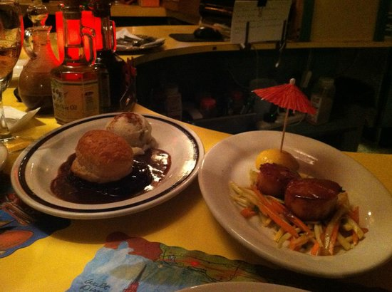 Rhythm Cafe: Sizable small plates feed two.