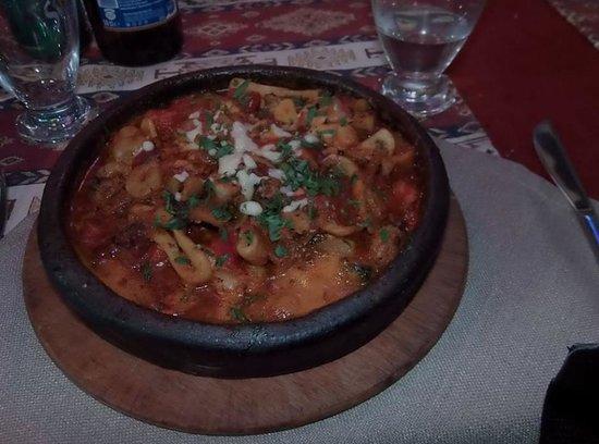 Otantik Grill: seafood casserole