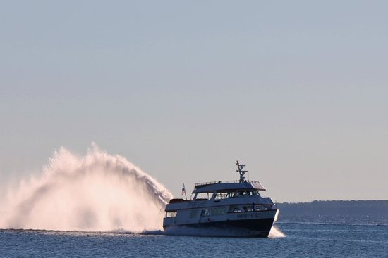 Mackinac Island Ferry Cheboygan