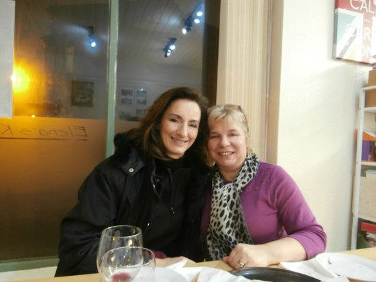 kirky from athens with elena - Picture of Elena\'s Kitchen, Lincoln ...