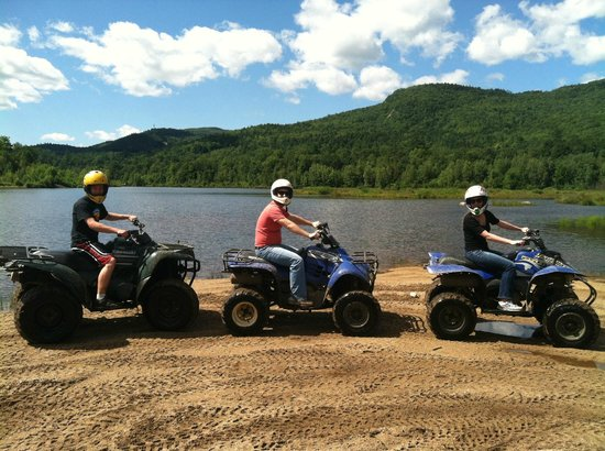 Out Back Kayak: ATV tour at Outback Kayak
