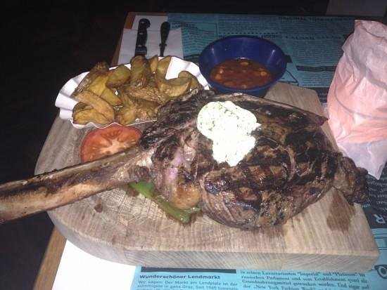 Speisesaal Graz: Tomahawk-Steak