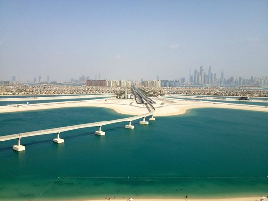 Atlantis, The Palm: View from room - 18th floor, Palm facing