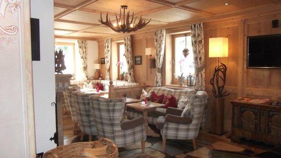 Romantik Hotel Spielmann: Loungebereich