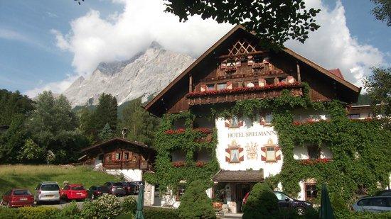 Romantik Hotel Spielmann: Vorderansicht