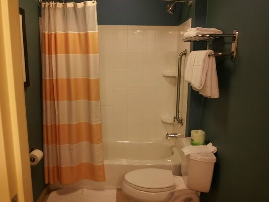 SpringHill Suites Corona Riverside: Bathroom