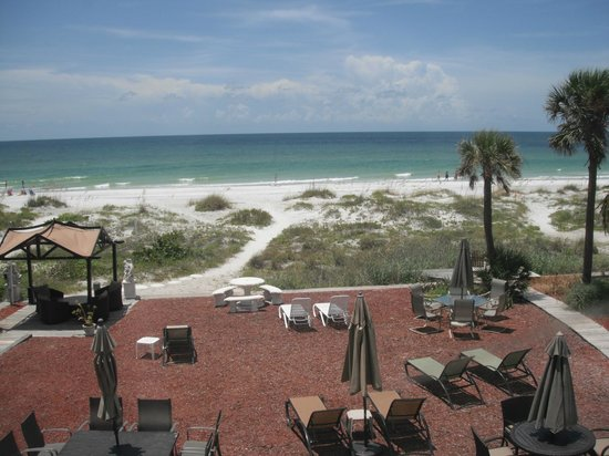 Sun N Fun Beachfront Vacation Rentals: View from room 4