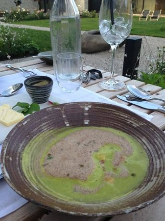 Designhotel WIESERGUT: one of the many delicious soups