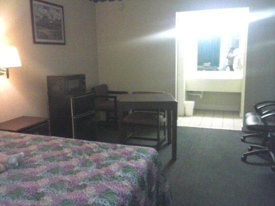 Travel Inn: room view.