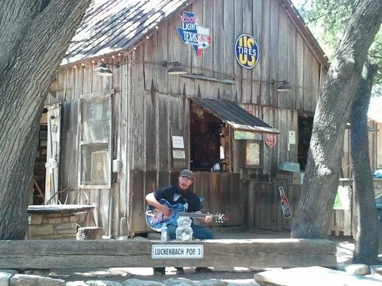 Luckenbach Texas General Store: Performer