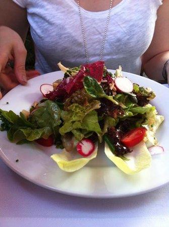 Restaurant Schloss Schartenfels: Salatteller