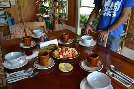 Belcruz B&B: Desayuno