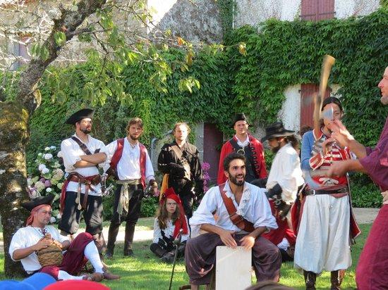 Château des Aventuriers : Fête des pirates 2013